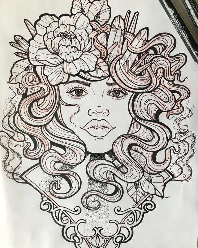 纹身手稿          姬先生oldschool玫瑰帆船灯塔纹身手稿 相关产品图片